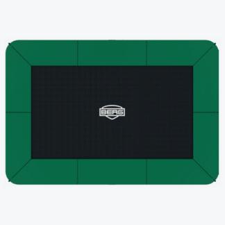 τραμπολίνο BERG με σχήμα ορθογώνιο σε χρώμα πράσινο
