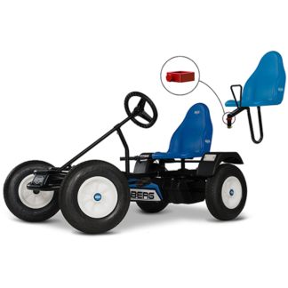 Axesouar Go Kart Berg Passenger Seat Basic Extra Blue
