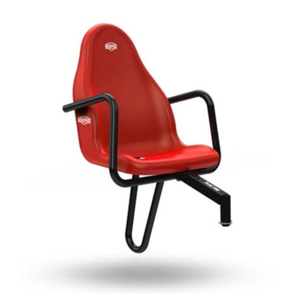 Axesouar Go Kart Berg Passenger Seat Basic Extra Red