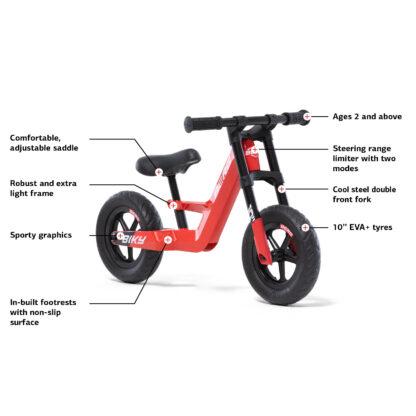 Podilato Isorropias Berg Biky Mini Red