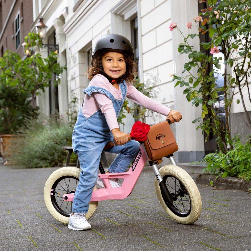 δείτε ποδήλατα ισορροπίας για κορίτσια όπως το Berg Biky Retro Pink